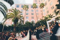 Don CeSar Wedding - Formal, black, white and gold St. Pete Beach Wedding by Parker Young Photography (28)