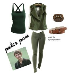 """""""Peter pan ouat (cheaper outfit)"""" by peterpannnn ❤ liked on Polyvore featuring moda, Doublju, peterpan y ouat"""