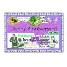 Happy Anniversary Postcards - keep a stash and always be thoughtful~