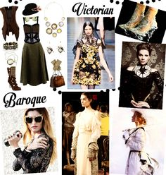 For 2015 we are still going to see many Baroque and Victorian trends, but Steampunk will be the most important according to IBM. Steampunk is a fashion movement reminiscent of the time when steam power was the most important thing in the world.  Steampunk is a science fiction/fantasy sub-genre that's a style mash-up of 19th century industrialised looks and Victorian flourishes.