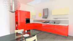 modern kitchen by Fabio Cavinato, via Behance