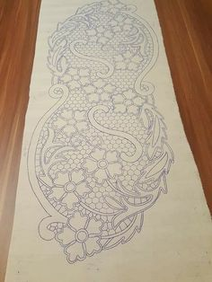 Machine Quilting Patterns, Quilting Tools, Quilting Designs, Quilt Patterns, Embroidery Stitches, Embroidery Patterns, Hand Embroidery, Romanian Lace, Lace Art