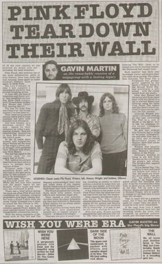 pink floyd news clippings - Google Search