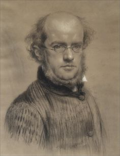 Adolf Menzel  ·  Autoritratto  ·  1853  ·  Stadtmuseum  ·  Berlin