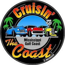 Cruisin' The Coast - An annual car event during October with over 8,000 registered antique and classic vehicles. Car enthusiasts from over 40 states and Canada drive to the Mississippi Gulf Coast to cruise for miles on our stunning beachside highway.
