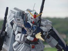 Land battle type Gundam forced supply type Gunpla Custom, Custom Gundam, Ground Type, Gundam Model, Mobile Suit, Transformers, Zaku, Earth, Robots