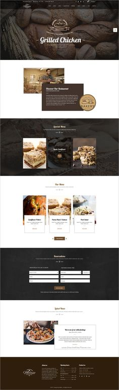 Milano is a stunning #PSD Template for #Bakeries, Cake & Coffee Shops #website with 3 unique homepage layouts and 16 organized PSD pages download now➩ https://themeforest.net/item/milano-stunning-bakery-psd-template-for-bakeries-cake-coffee-shops/19108936?ref=Datasata
