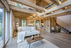 Ferienhaus Steiermark mit Pool und Sauna Global Style, Outdoor Furniture, Outdoor Decor, Bungalow, Travel Destinations, Pergola, Outdoor Structures, Vacation, Architecture