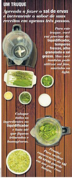 Destemperados - Truque: aprenda a fazer Sal de Ervas