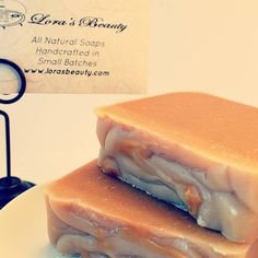 #lorasbeauty #goatmilksoap this is part of my #fall line. Gingerbread milk & honey!