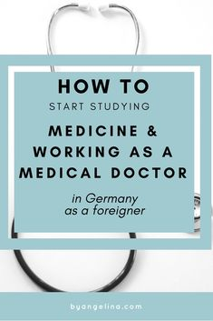 I finally answering the most frequently asked question how you can start studying medicine and working as a Medical Doctor in Germany when you're a foreigner. Check it out! Medschool, Arzt, Medizinstudium, medical student, Medical Students, Medical School, Studying Medicine, Nclex Exam, Career College, Medicine Doctor, Board Exam, Doctor In, Med School
