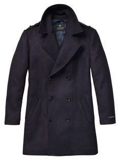 Double-Breasted Gentleman'S Coat > Mens Clothing > Jackets at Scotch & Soda