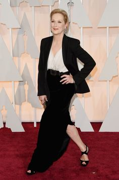 Pictures of Meryl Streep at the Oscars Over the Years | POPSUGAR Celebrity Photo 10...2015