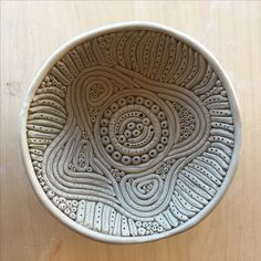 Coiled dish