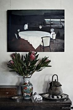 Geraldton European Home of Ray and Jo Cockerill - draws together French, Moroccan and Chinese influences.