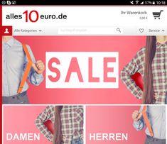 Hochwertige Produkte für 10 Euro? Das gibt's bei alles10euro.de *Werbung