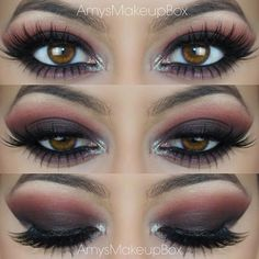 Dark Smokey Eye with Pinks and Purples Pinterest @stylexpert ❣
