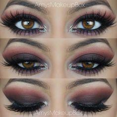 Dark Smokey Eye with Pinks and Purples Pinterest @stylexpert ❣