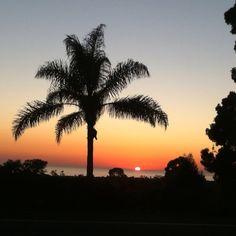 Encinitas, California sunset
