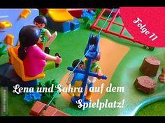 Playmobil Film deutsch Lena und Sahra auf dem Spielplatz. - YouTube