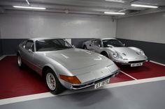 Ferrari Daytona, Ferrari Dino GT, Ferrari Testarossa, and Ferrari 328 by Kevin Ho 車 Photography, via Flickr