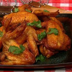 The Chew's Chef Michael Simon fried chicken wings recipe. The co-host Clinton Kelly declared them his favorite all time thing to eat.