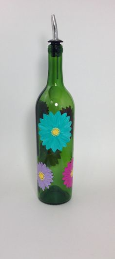 A personal favorite from my Etsy shop https://www.etsy.com/listing/257372978/upcycled-wine-bottle-olive-oil-bottle