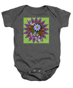 Purchase a baby onesie featuring the image of Falling In Love Big Bloom by Kimberly Hansen.  Available in sizes S - XL.  Each onesie is printed on-demand, ships within 1 - 2 business days, and comes with a 30-day money-back guarantee.