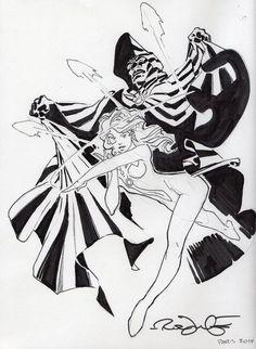 Cloak and Dagger by Rick Leonardi