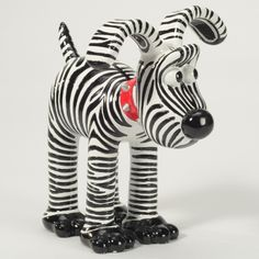 Grant's Gromit Figurine Sick Kids, Childrens Hospital, Bristol, Black Stripes, Charity, Creatures, Art, Templates, Crafts