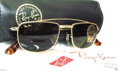 VINTAGE RAY-BAN B&L AVIATOR Brace-CARAVAN Antique GP 24k