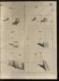 'Plate XXII. _Brook Taylor's method of perspective made easy_ 1755