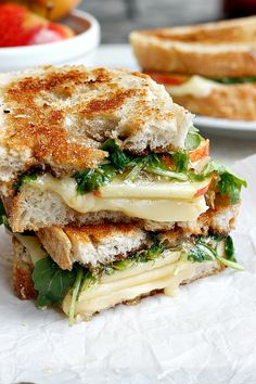 Spicy Apple Cheddar Grilled Cheese