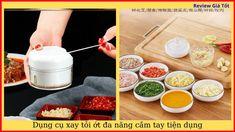 Dụng cụ xay tỏi ớt đa năng cầm tay tiện dụng Da Nang, The Creator, Ethnic Recipes, Food, Meals