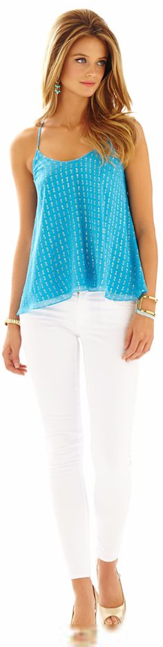 LILLY PULITZER MAISY RACERBACK CAMISOLE - Spring 2015