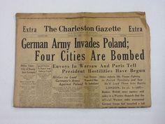 Vintage newspapers.... Headlines we should never forget..