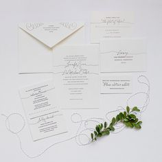 Boston | Lucky Luxe Couture Correspondence | Letterpress Wedding Stationery