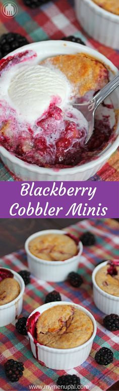 Blackberry Cobbler M
