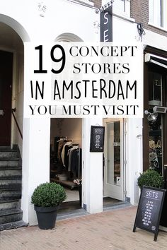 "Want to check out some unique stores while shopping in Amsterdam? On travel blog http://www.yourlittleblackbook.me there's a list of the nicest concept stores here in Amsterdam. Planning a trip to Amsterdam? Check http://www.yourlittleblackbook.me/ & download ""The Amsterdam City Guide app"" for Android & iOs with over 550 hotspots: https://itunes.apple.com/us/app/amsterdam-cityguide-yourlbb/id1066913884?mt=8 or https://play.google.com/store/apps/details?id=com.app.r3914JB"