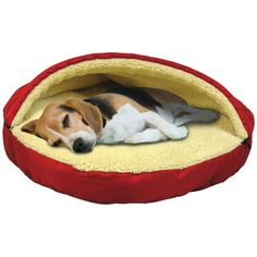 Plush Pet Cave & Bed