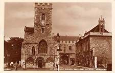 Abingdon, St. Nicholas' Church and Abbey Gateway, Real Photograph