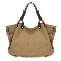 Wholesale Leisure Metal and Canvas Design Women's Tote Bag Only $8.92 Drop…