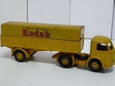 FRENCH DINKY TOYS NO.32aj PANHARD ARTICULATED TRUCK, KODAK