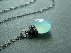 love this aqua necklace