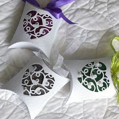 Blog tonic: Scented Pillow box sachets - an idea from Doda
