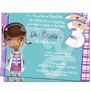 Doc McStuffins Personalized Invitations