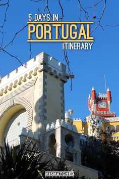 Are you planning a trip to Portugal? Check out how our 5 Days in Portugal Itinerary which includes Lisbon, Sintra and Porto.
