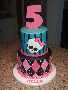 Monster High birthday cake | Flickr - Photo Sharing! Mick's Sweets