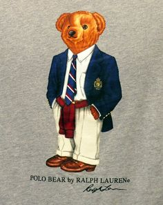 Polo Bear for Preston Picture Day Outfits, Teddy Bear Party, Preppy Mens Fashion, Fashion Kids, Men's Fashion, Ivy League Style, Ivy Style, Men's Style, Polo Ralph Lauren