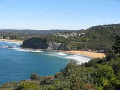 Bilgola Beach with Newport Beach beyond / Two of Sydney's Northern Beaches